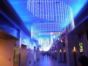 LED String Waterfall Light Crurtain Wedding Party Hotel Decoration pictures & photos