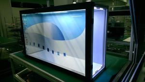 42 Inch Transparent Advertising Demo Display Panels pictures & photos