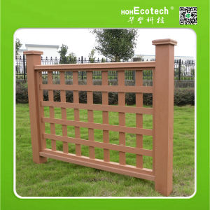 Waterproof WPC Garden Fence 1200*1120mm-5 pictures & photos