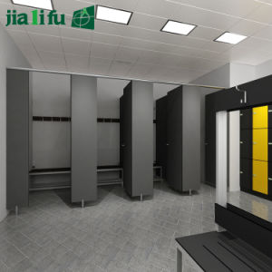 Jialifu Waterproof Solid Phenolic Toilet Partitions pictures & photos