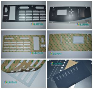 Membrane Switch Durable Waterproof Graphic Overlay (MIC-0084) pictures & photos