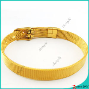 Gold Stainless Steel Bangles for Slide Charms (B16041921) pictures & photos
