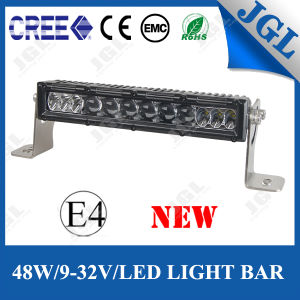 Automotive CE RoHS E-MARK 48W CREE LED Light Bar
