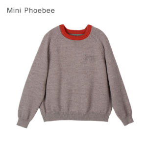100% Wool Knitted Kids Clothes for Boys and Girls pictures & photos