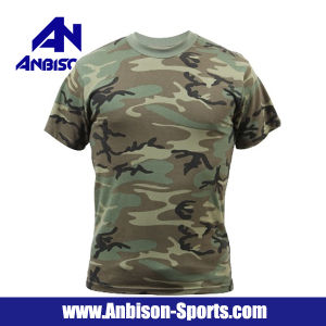 Anbison-Sports 100% Cotton Short Sleeve T-Shirt in Different Colours pictures & photos