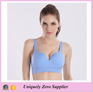 2016 New Design Women Gym Push up Comfort 3D Yoga Bra pictures & photos