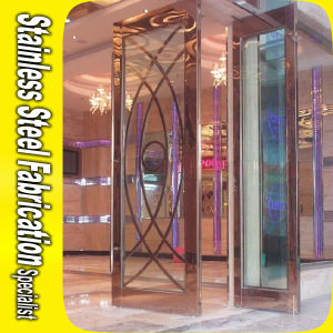 Custom Stainless Steel Metal Door Frame Designs pictures & photos