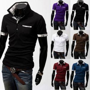 Wholesale Custom Casual Cotton Men′s Polo Shirt pictures & photos