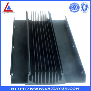 Black Anodized Extrude OEM Aluminium Heat Sink pictures & photos