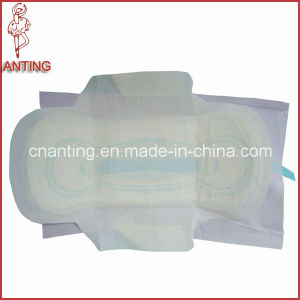 Disposable Sanitary Napkin Organic Cotton Cover Pads with Breathable Film pictures & photos