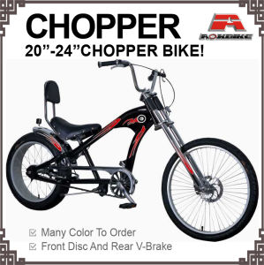 20*4.125 Fat Tire Bicycle Chopper Bike pictures & photos