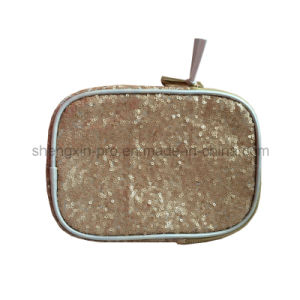 Shinning Textile Cosmetic Bag for Ladies pictures & photos