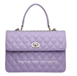 PU Leather Tote Satchel Duffel Large Purse Bag Woman Handbag pictures & photos