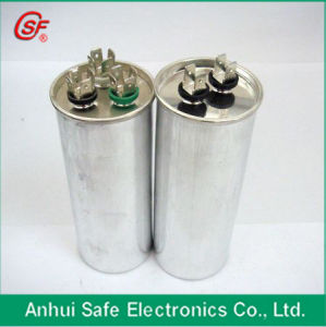 White Plastic Round Case AC 35UF Capacitor Cbb65 pictures & photos