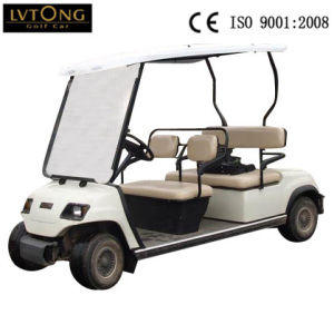 4 Person Electric Golf Buggy Use in Golf Course (LT-A4) pictures & photos
