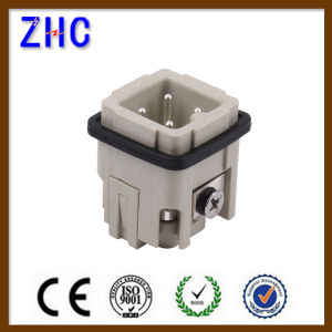 3 Pin 4 Pin Male and Female Heavy Duty Cable Terminal Connector pictures & photos