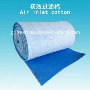 Air Inlet Cotton Blue and White Pre Filter for Spray Booth pictures & photos