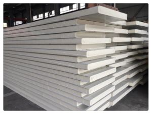 PU Color Steel Sandwich Panel for Wall/Ceiling pictures & photos