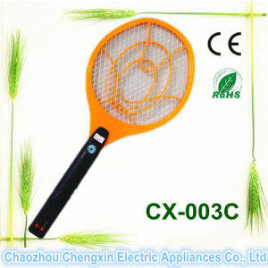 White Handle Electronic Mosquito Fly Killer for Camping pictures & photos