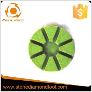 "3"" 8 Triangles Diamond Resin Floor Polishing Pads for Concrete pictures & photos"