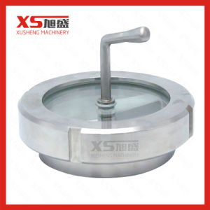 Stainless Steel Sanitary Union Type Sight Glass with Brush pictures & photos