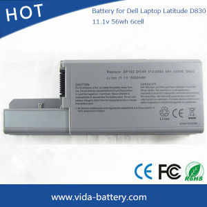 Replacement Laptop Battery for DELL Latitude D820 D830 D531 Precision M65 M4300 pictures & photos