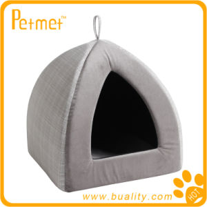 Luxury Pyramid Pet Bed with Removable Cushion (PT59350)