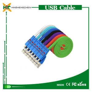 Micro USB Data Cable for Samsung Note3, S5 Charger Cable pictures & photos