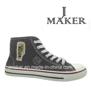 Newest MID-Cut Canvas Shoes Cloth Shoes 1057-a pictures & photos