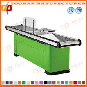 Supermarket Shop Cash Checkstand Table Retail Checkout Cashier Counter (Zhc34) pictures & photos