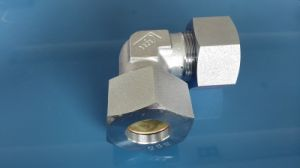 DIN Byte Type Tube Fitting 90 Elbow Male (1D9)