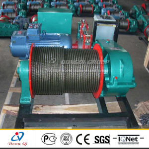 Jm Series Low Speed 1-10 T Wire Rope Electric Winch for 220V