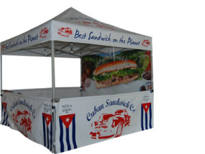 Outdoor Advertising Gazebo Pop up Folding Beach Canopy Tent with Custom Printed pictures & photos