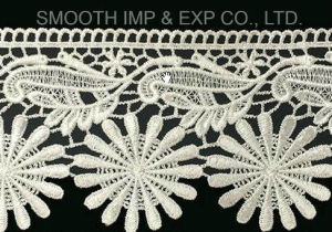 Embroidery Lace Clothing Home Textile Accessories Water Soluble Fabric pictures & photos