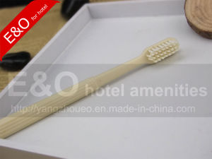 Hotel Cornstarch Plastic Toothbrush pictures & photos