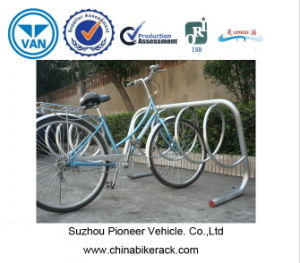 2015 Hot Selling Multiple Bike Racks Park 3 Bikes pictures & photos