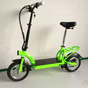 2016 New 2 Wheels Seat Electric Scooter for Adult (ES-1202) pictures & photos