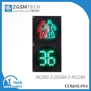 200mm 8 Inch 2 Digital Countdown and Pedestrian Digital Light Timer pictures & photos