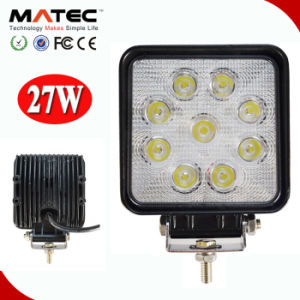 """Top Quality 4"""" 10-30V DC 27W Offroad Truck SUV ATV Car LED Work Light pictures & photos"""