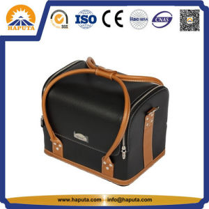 Fashion Ladies Leather Toiletry Bag with Handle (HB-6651) pictures & photos