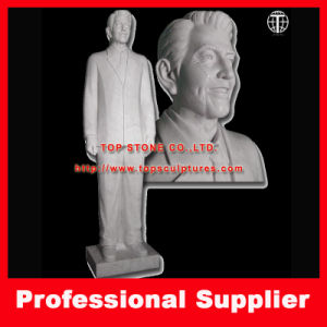 Carved Ronald Reagan Marble Statue Marble Sculpture pictures & photos