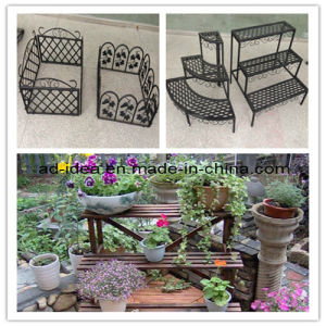 Chic Garden Plant Stand/ Metal Plant Display Rack (RACK-019) pictures & photos