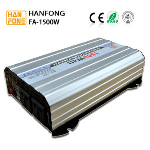 12V 110V/220V Car Power Inverter Converter From Guanzghou (FA1500) pictures & photos