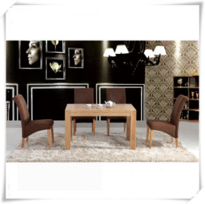 Modern Wood Dining Table Sets (Malaysian market) pictures & photos