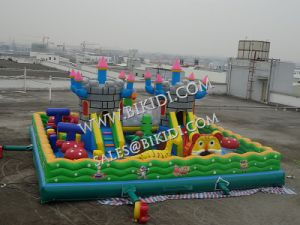 Hot Sale Inflatable Outdoor Castle Playground, Inflatable Fun City, Inflatable Games pictures & photos