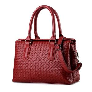 Factory Leather Leisure Weave Designer Hand Bags for Women (XP1776) pictures & photos