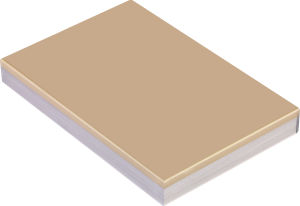 8h Hardness High Gloss Waterproof PETG Laminated MDF Price (LCT3018) pictures & photos