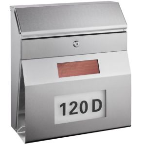 Stainless Steel Solar Mailbox with Address Number pictures & photos
