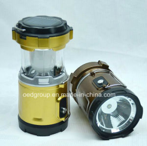 Solar Folding Camping Lamp Emergency Small Lantern LED Light pictures & photos