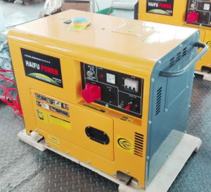 7.5kVA Ce ISO Air Cooled Portable Silent Diesel Power Genset/Generator pictures & photos